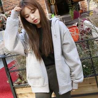 🚚 韓版長袖上衣連帽外套(限時低價)
