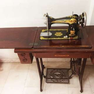 Antique Sewing Machine (Butterfly)