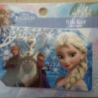 Frozen 魔雪奇緣多用途貼紙