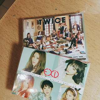 🚚 Twice/exid 4摺便條紙