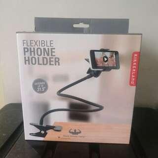 """Kikkerland Flexible Phone Holder 31.5"""" (Super Strong Clamp)"""