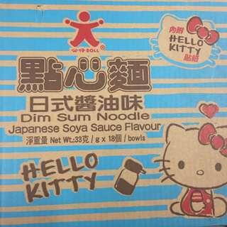 Hello Kitty 小杯麵