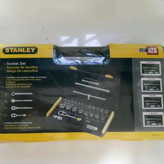 BNIB Stanley Socket Set
