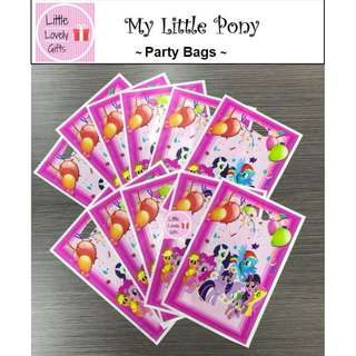 My Little Pony Party Bags (Great for Children's Party)