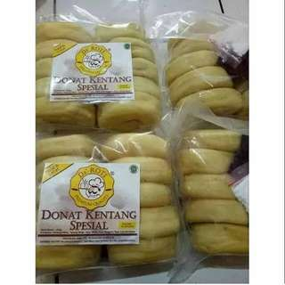 Donut Goreng Home Made Coklat