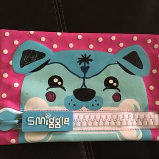Smiggle big zip pouch