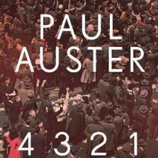 4 3 2 1 By (author)  Paul Auster