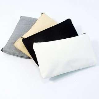 Instocks canvas pouches/pencil case