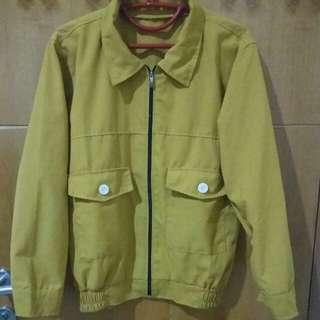 Post Jacket Mustard