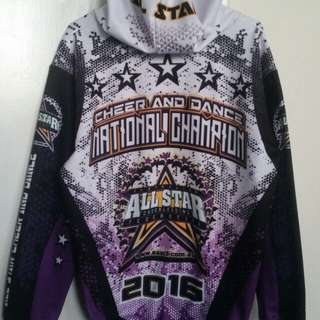 Cheerleading National Champion Jacket 2016