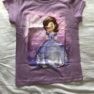 Sofia's the first T-shirt