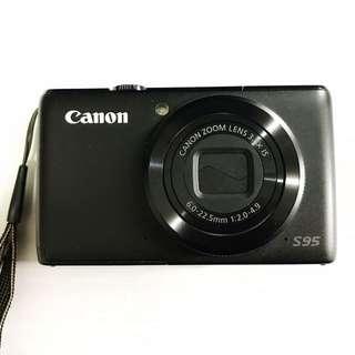 Canon digital camera S95 PowerShot