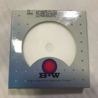 B+W UV-Haze filter 77mm