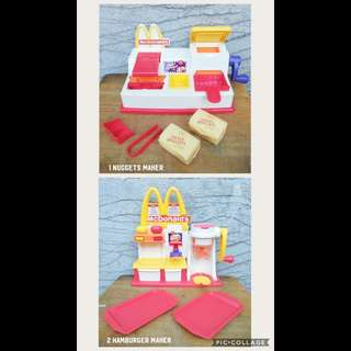 2-IN-1 MCDO Snack Maker Playsets