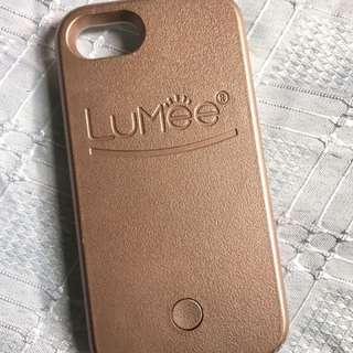 Lumee Rosegold Iphone 6/7 case