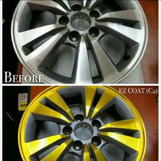 Time Sales EZ Coat for Car Rim and Chrome Part