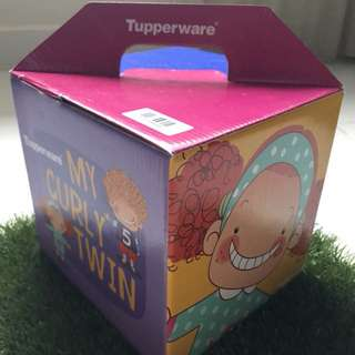 100% Original TUPPERWARE My Curly Twin Set