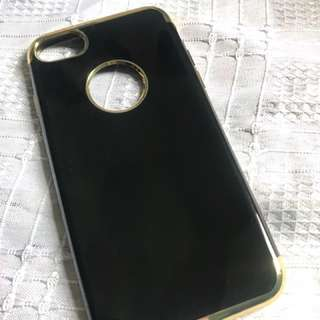 Black and gold Iphone 7 case
