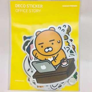 Kakao friend 裝飾貼紙