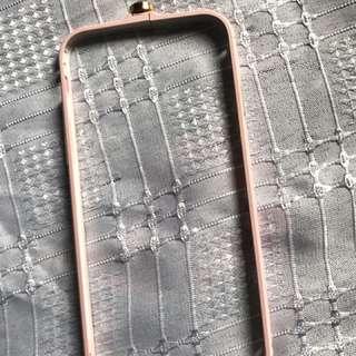 Pink bumper case- Iphone 6/7/8
