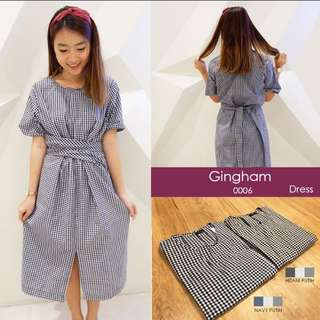 DRESS GINGHAM