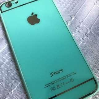 Teal hard Iphone 7/8 case