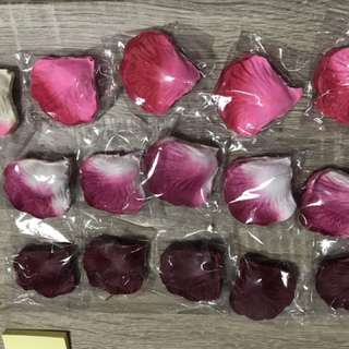 結婚 求婚 新房 安床 佈置 酒紅色 花瓣 $10-5包
