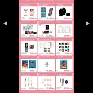 LOOKING FOR APINK PINK SPACE CONCERT OFFICIAL GOODS