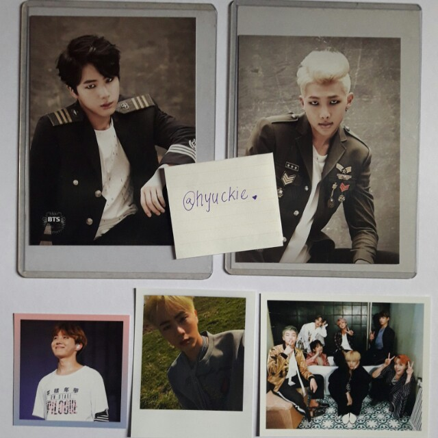 *1 DAY SALE* BTS Photocard & Postcards