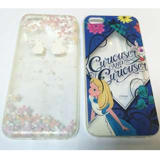 iPhone 5C用手機軟膠殼 Smartphone Case (Alice in wonderland 兔仔)