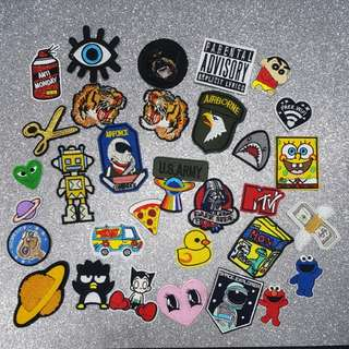 《NEW ARRIVALS》 Iron On Patches