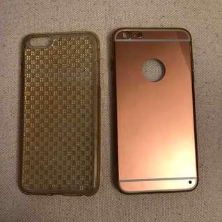 Mirror iPhone case 6 Plus bling bling手機套