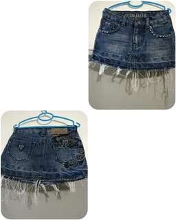 For sale preloved Denim Skirt Jeans