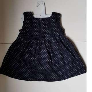 Polka dot dress girl (1yr/o)