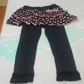 Leggings skirt 5-6y