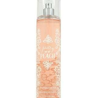 Bath & Body Works Fine Body Mist (Pretty as a Peach)