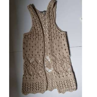 Knitted outer wear