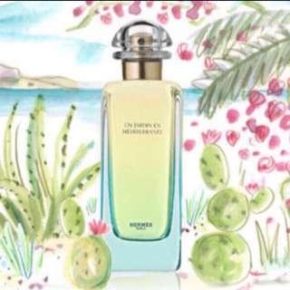 Hermes Un Jardin En Mediterranean 50ML