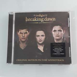 Twilight saga breaking dawn original soundtrack