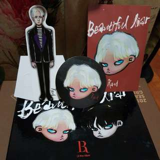 VIXX LR BEAUTIFUL LIAR MINI ALBUM - CHARACTER VERSION