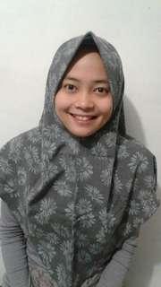kerudung khimar hijab instan