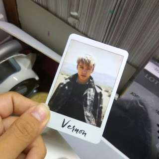 [WTT/WTS] VERNON OFFICIAL PHOTOCARD (ALL VER)