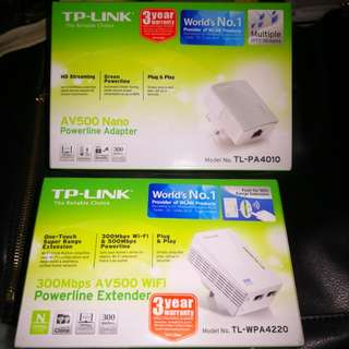 TP-Link Powerline and Adapter
