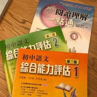 中文科練習3本 全新