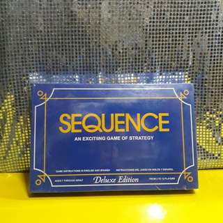 SEQUENCE Deluxe Edition Board Game (actual photos here)