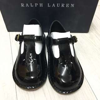 Brand new Ralph Lauren Black School Strap