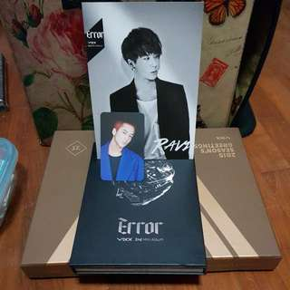VIXX 2ND MINI ALBUM ERROR - RAVI FULL SET
