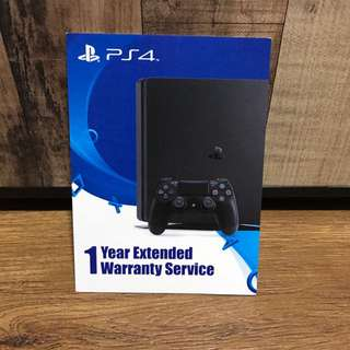 PS4 extended 1 year warranty service