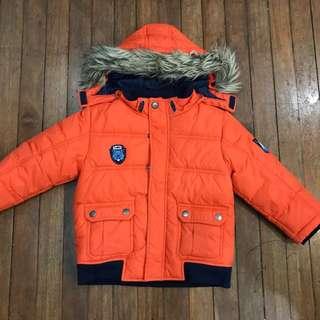 H&M Down winter jacket parka 3-4yo boys