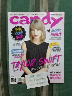 Candy Magazine Taylor Swift Cover (February 2015)